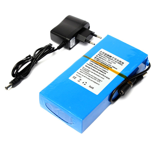 DC0512V 12V 6800mAh & 5V 13000mAh lithium ion battery