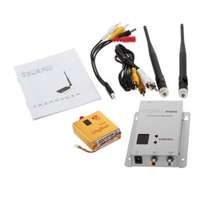 1.2GHz 800mW 8 Channel Digital Wireless AV Transmitter & Receiver