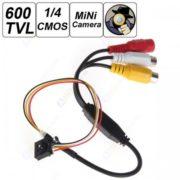 "HOT DIY 600TVL 1 / 4"" HD Smallest Mini Camera Pinhole CCTV Camera Covert Camera Home Security Camera Audio Surveillance"