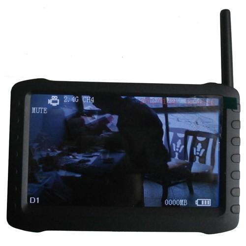5 Inch HD Portable 2.4Ghz & 5.8Ghz Wireless Receiver - Mini DVR