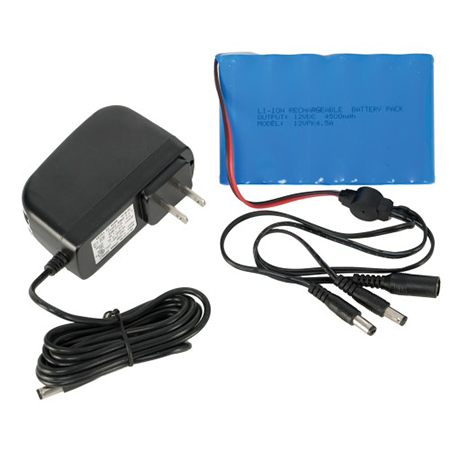 Portable super 6800mAh 12V li-ion battery backup
