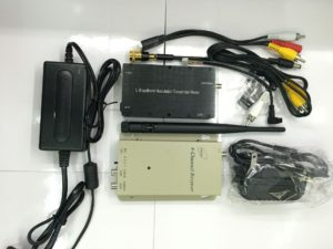 1.2G 8W Wireless Audio Video AV Transmitter