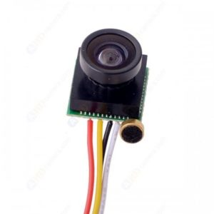 600TVL 500MP HD Smallest Mini Camera Pinhole 170 Wide Angle CCTV Color Camera CMOS Hidden Covert Cam Home Security Camera Audio
