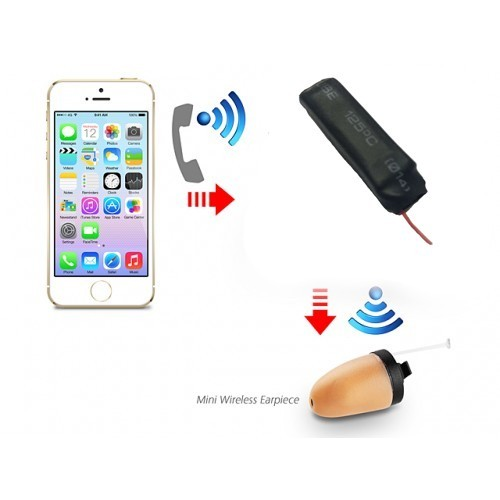 Micro Bluetooth Earpiece Inductive Kits - The Worldwide Smallest Bluetooth Transmitter Support Magnet / Moving Iron Earpiece