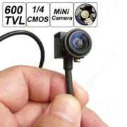 280 X 960 New Micro Camera HD Mini CCTV Security Video Surveilance Micro 600TVL Smallest Camera Wide Angle Fish Lens