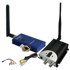 2.4GHz 1000mW Long Range Wireless Video Transmitter and Receiver