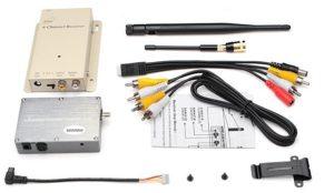 FPV 1.2GHz 6W 6000mW hd wireless analog video transmitter Receiver