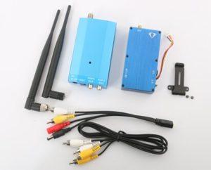1.2G 8W 4CH Wireless Audio Video AV Transmitter