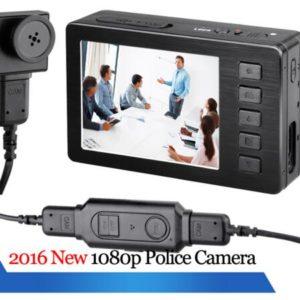 police camera body caemra 1080P HD FHD portable DVR wearable camera