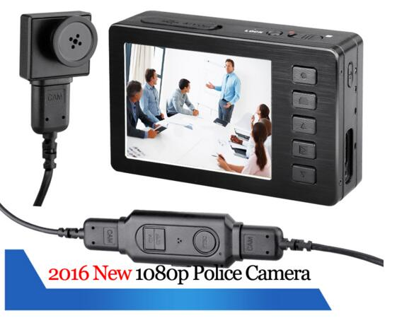 police camera body caemra 1080P HD FHD portable DVR wearable camera