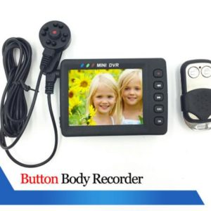 650m mini portable DVR hidden camera button covert camera