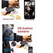3G camera sim card portable video camera button camera