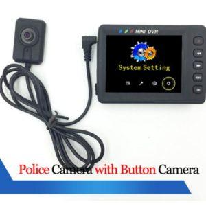 portable DVR button camera body camera police wearable camera