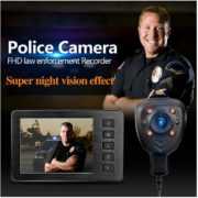 portable DVR button camera 1080P body camera police wearable camera