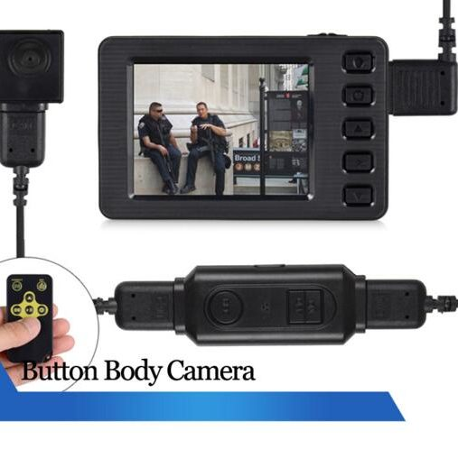 portable button camera DVR HD body camera police camera