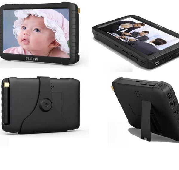 5 inch 2.4G wireless video receiver DVR