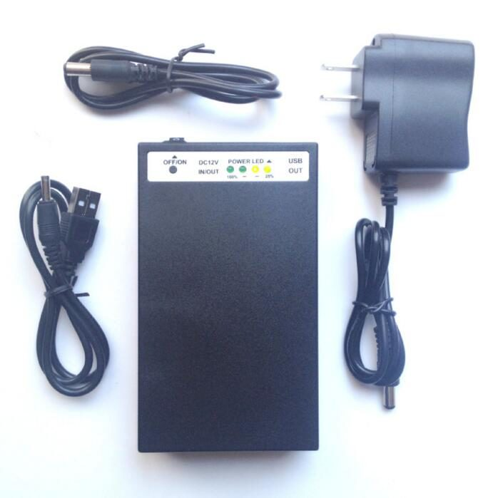 YSD-998 3in1 5v 9v 12v lithium polymer battery 12V 9800mAh & 9V 1200mAh & 5V 20000mAh black li-ion battery