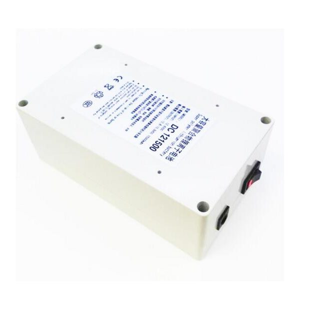 DC-121500 White 15000mAh Polymer lithium ion battery 12v