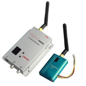 2.4GHz 12 Channels 700mW Wireless Receiver & Transmitter