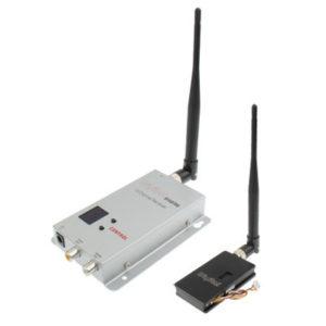 1.2GHz 1.5W 8 Channel Digital Wireless AV transmitter & receiver