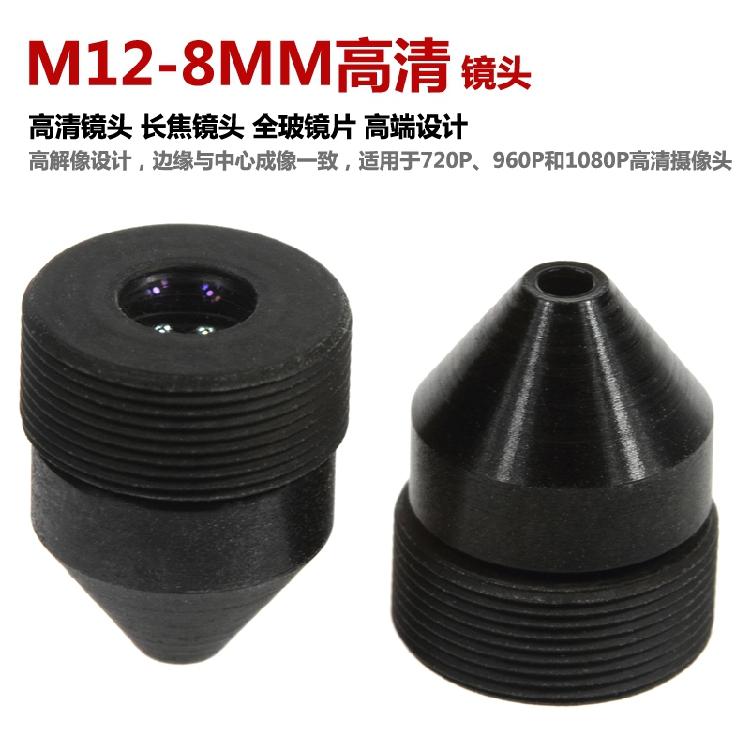 M12 8mm pinhole lens
