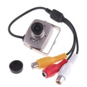 208C-702 Super Mini Micro Color Wired CMOS Security Camera Surveillance Monitor PAL