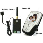 600TVL 5MP Portable Wireless Button Camera built in battery