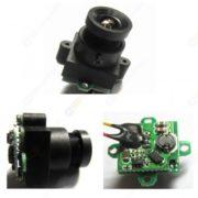 4-24V Micro Camera-0.008lux Night Vision,520tvl,90degree FOV,Low Heat,Low Current,Micro Cravate Filaire Camera