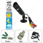 bullet camera 1/3 sony CCD 480 lines