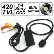 3.7mm bullet camera pinhole camera