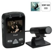 "2.0"" LCD Screen DVR With 1/3 Inch Sony HAD CCD Wired Mini Bullet Camera"