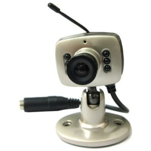 High Quality 2.4GHz Wireless Color Mini Camera - Microphone