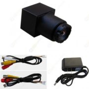 0.008lux Low Light 12v Hidden Elevator Camera-90deg View Angle,520tvl Mini Color Surveillance Camera