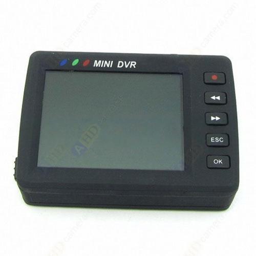 """Mini CCTV Button Spy Camera Portable 2.5 """"LCD Monitor"""
