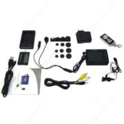 "Mini CCTV Button Spy Camera Portable 2.5 ""LCD Monitor"