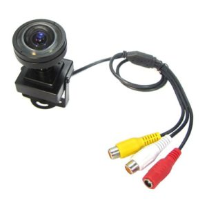 Super WDR Low Illumination 650TVL SONY CCD OSD Mini Camera Screw Lens