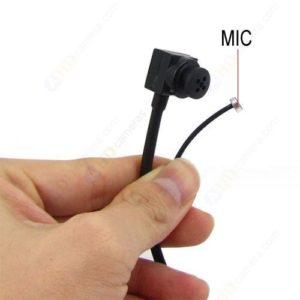 1/4 Inch SHARP CCD 2.4G Wireless Button Lens Mini Spy Camera