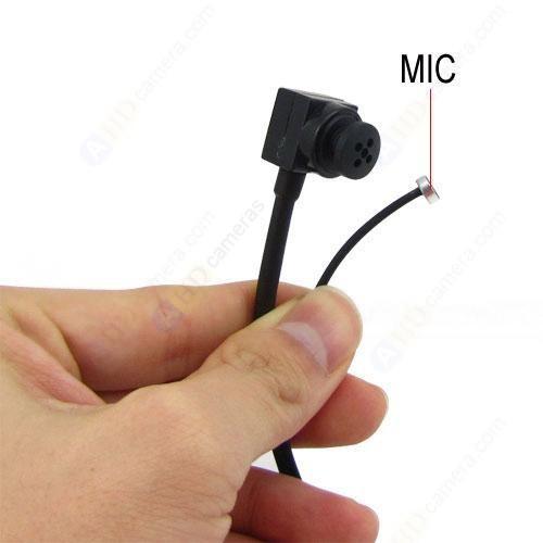 1/4 Inch SHARP CCD 2.4G Wireless Button Lens Mini Spy Camera