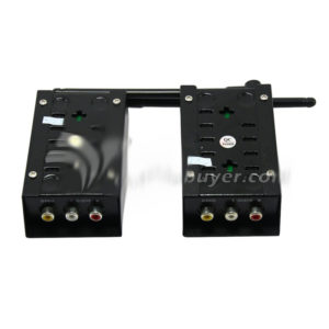 Bada 1.2W Wireless Audio /Video Sender 1200mw Transmitter Receiver 2.4G f/ Cameras