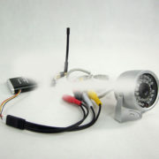 MK 1.2G 1.5W FPV TX RX 15CH Wireless Audio Video Transmission