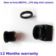 170 Degree Wide View Anlge HD FPV Camera 480TVL Mini CCTV Camera 1/4 CMOS