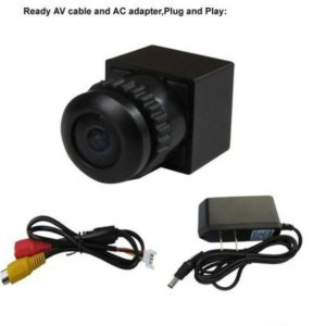 170 Degree Wide View Anlge HD FPV Camera 480TVL Mini CCTV Camera 1/4 CMOS