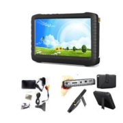 2.4Ghz FPV Monitor 5'' Wireless AV Receiver Support 32GB Card For Helicopter