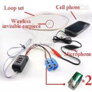 Invisible Secret Spy Nano Wireless Earphone Earpiece for Mobile Phone