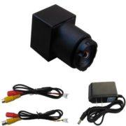 520TVL Mini FPV Camera High Definition Hidden Camera with 90 Degree