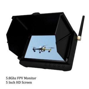 5.8Ghz 5 Inch HD Wireless FPV Monitor DVR 32 Channels FPV DVR
