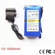 DC-121500 12V 15000mAh Super Polymer Rechargeable Lithium-ion 15Ah 12V CCTV RECHAGEABLE