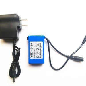 DC-168 1800mAh li-ion Super Mini 12V Rechargeable battery