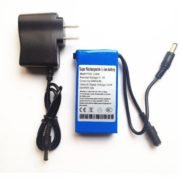 3000mAh DC 12V Rechargeable Li-ion battery