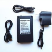 12v deepcycle battery 3800mah li-ion battery pack with standard USB port for led,for security camera